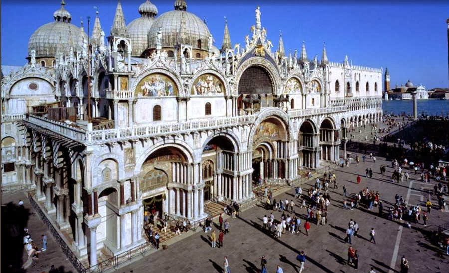 la basilica di san marco a venezia culturalweb tv. Black Bedroom Furniture Sets. Home Design Ideas
