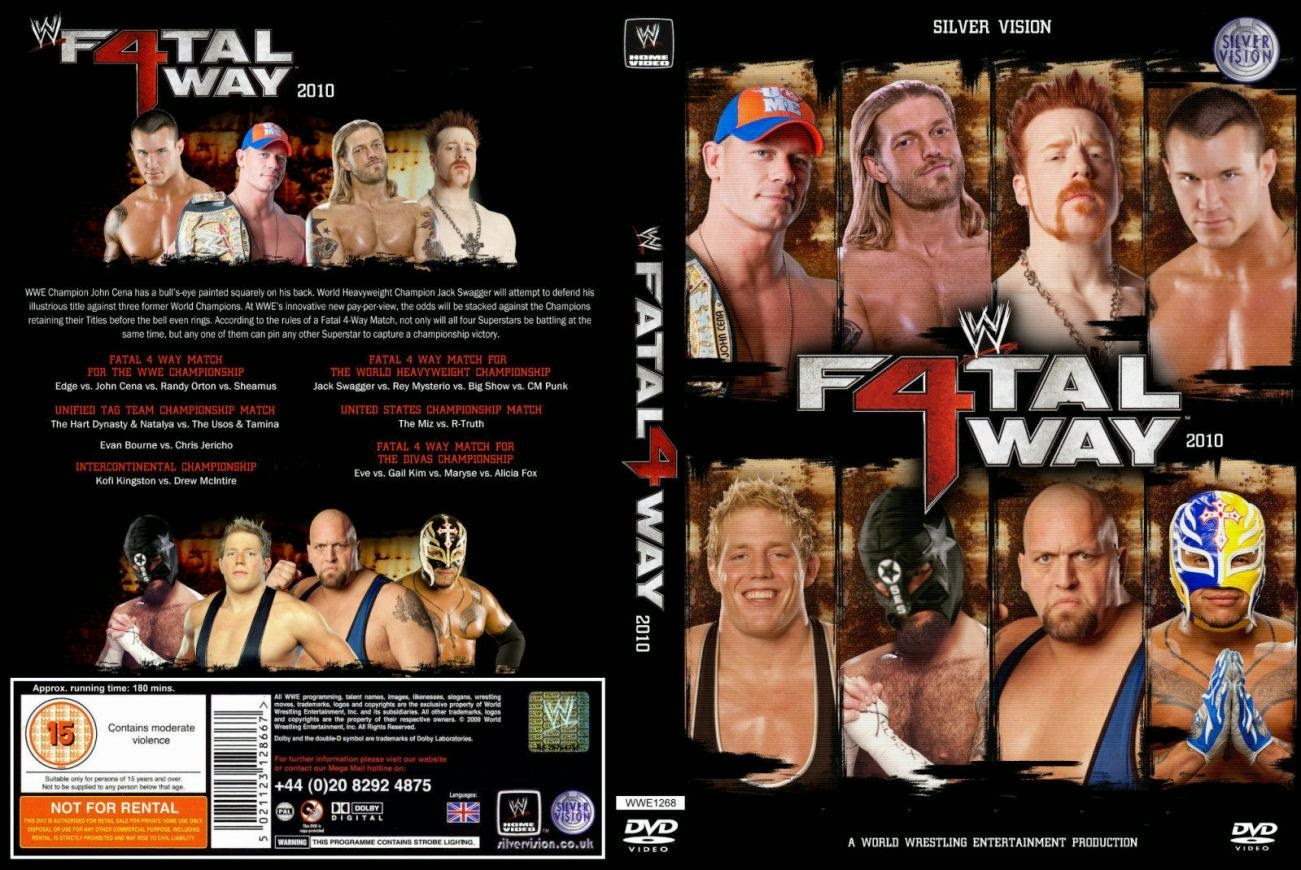 Image result for fatal 4 way 2010 cover