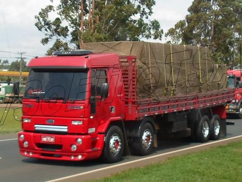 Esse é o verdadeiro caminhão, e o sonho de muitos caminhoneiros ...