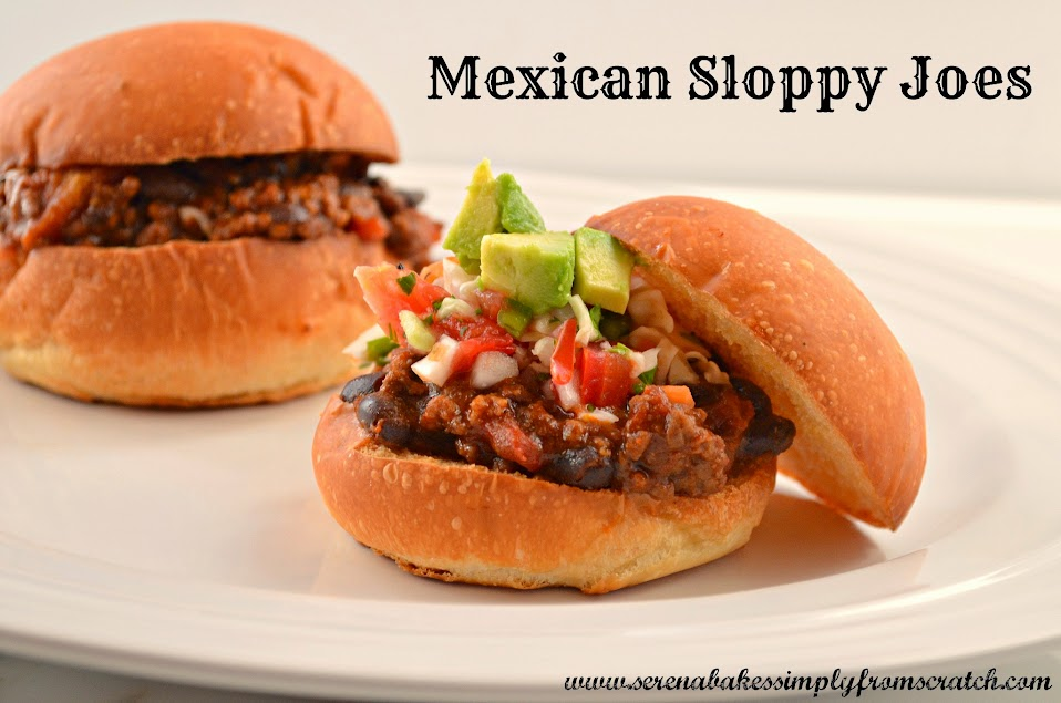 ... kid friendly. Mexican Sloppy Joes will quickly become a favorite