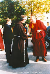 Padre G.M. Polidro e il Dalai Lama