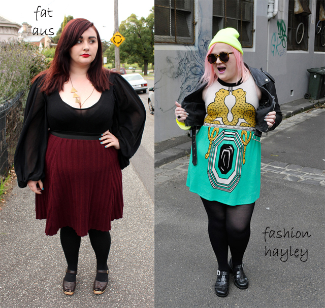fat aus, fashion hayley