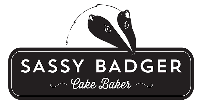 sassy badger cake baker