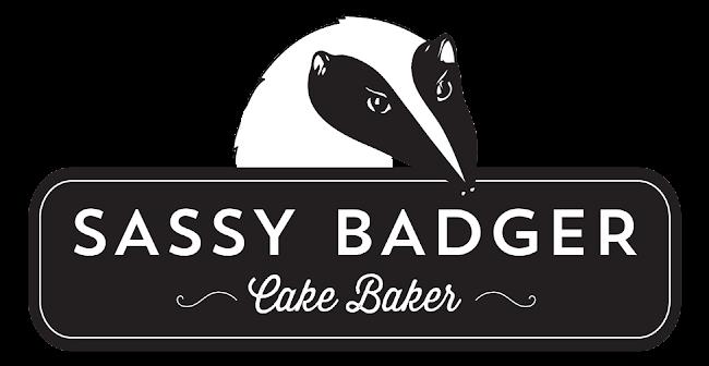 sassy badger cake baker