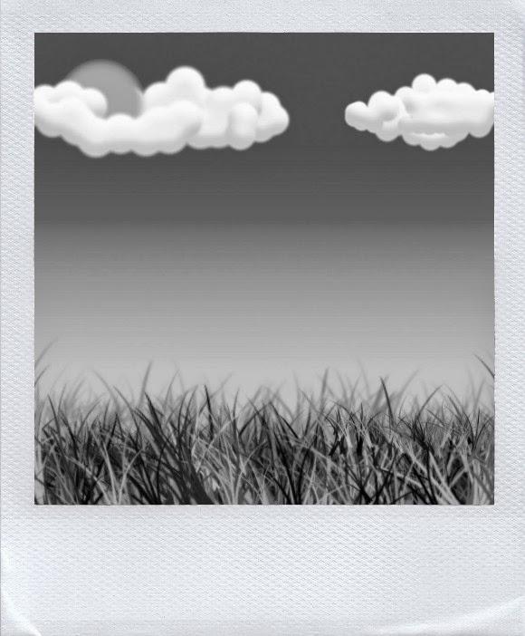 трава под ногами шуршит