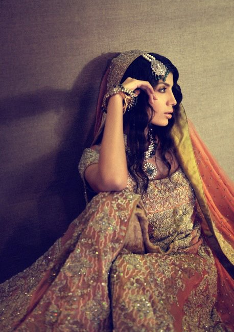 Sana Safinaz Bridal Fashion Collection 2012