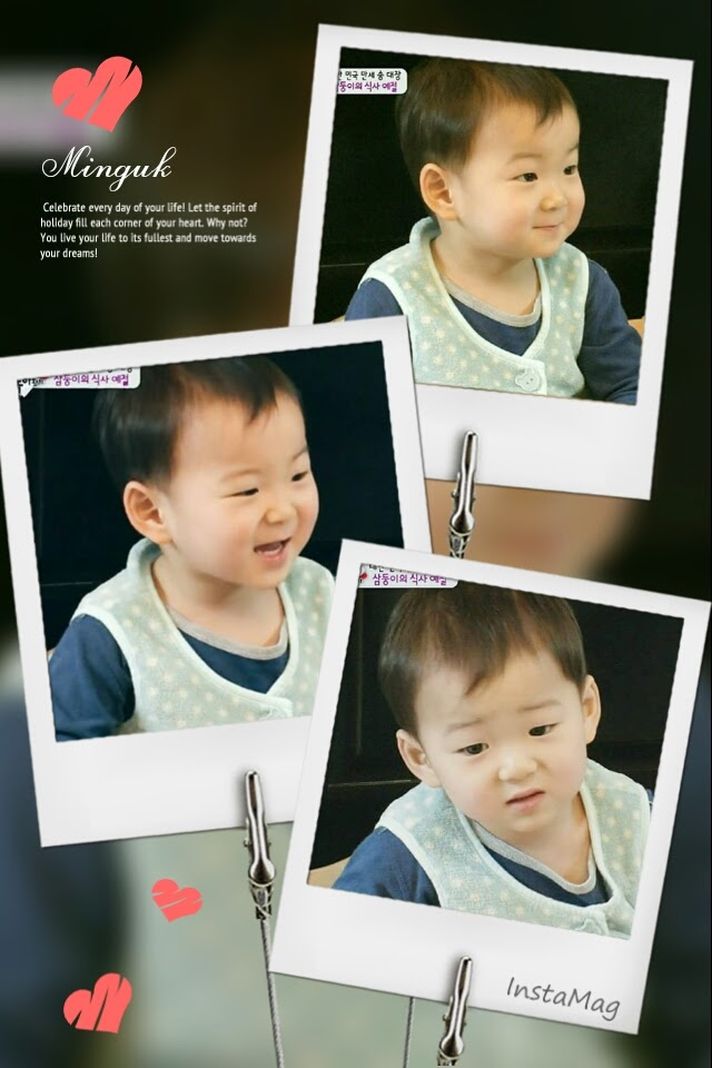 The cutest Minguk