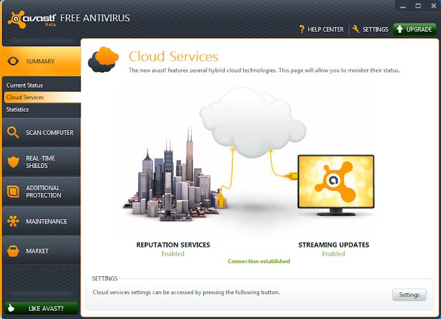 Avast! Free Antivirus 7.01456 Screenshoot