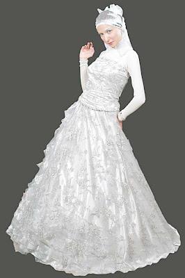 فساتين افراح محجبات 2017 و نصائح قبل الاختيار Hijab wedding Dresses