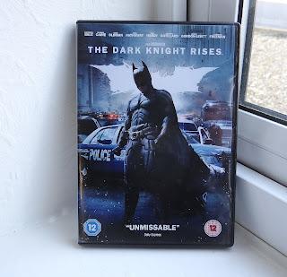 Batman movie, Christmas DVD, The Dark Knight Rises