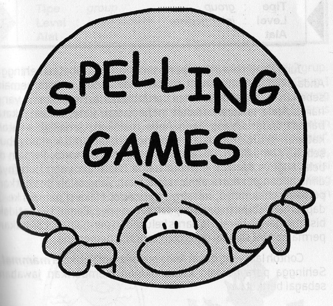 3 Contoh Spalling Games yang Menyenagkan