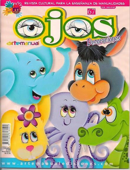 Revista para aprender a pintar ojos a las manualidades - Aprender a pintar ...