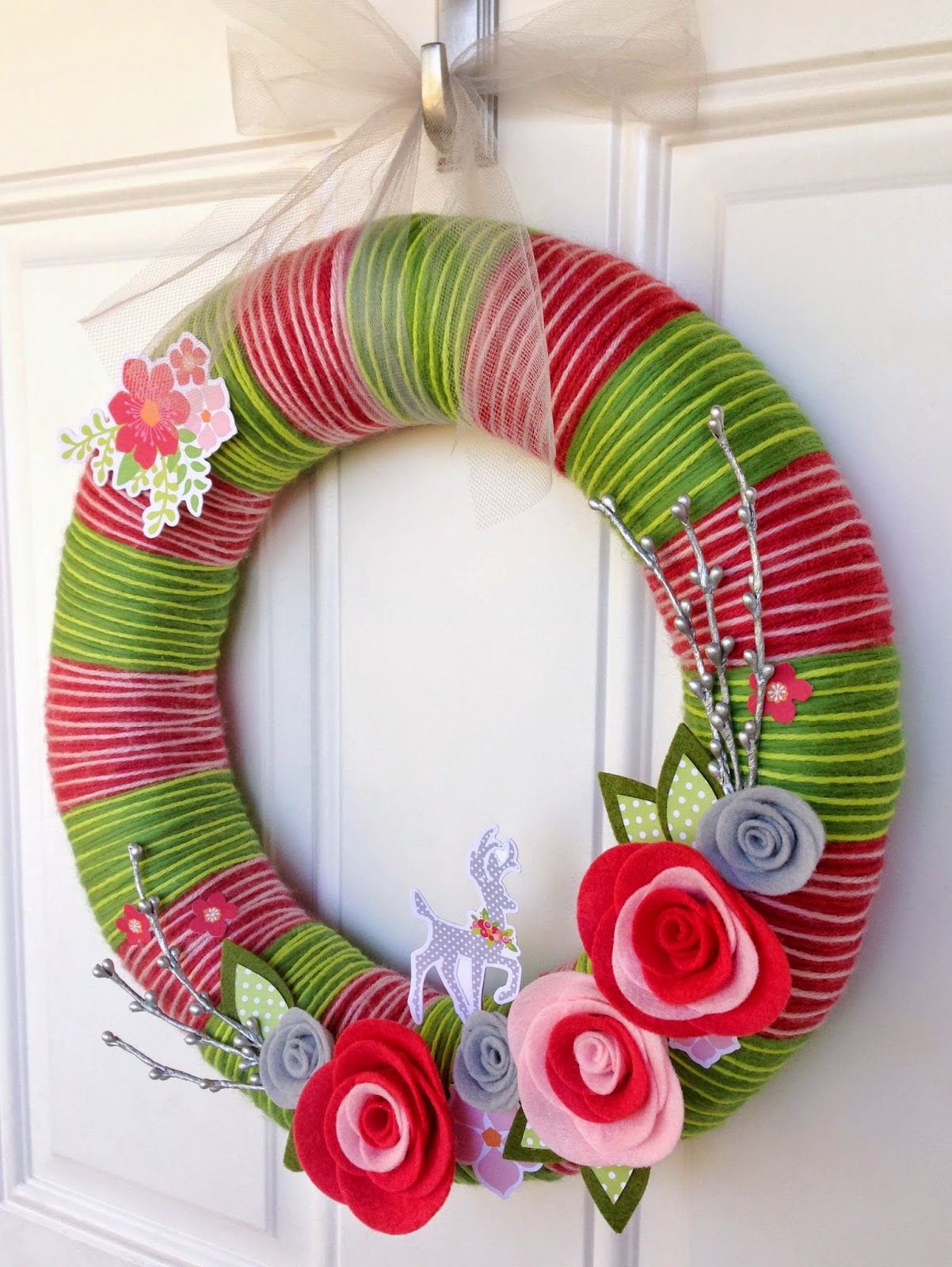 Tessa Buys Chickaniddy Crafts Holiday Wreath 2