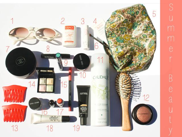 summer beauty case
