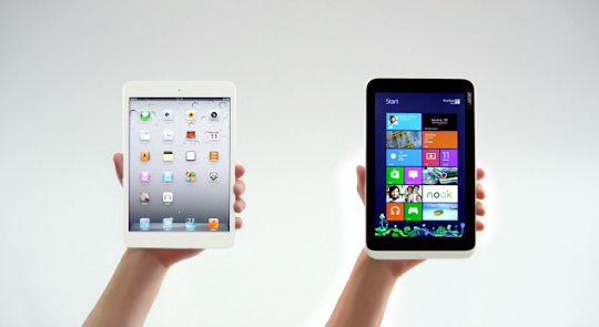 Microsoft Video Ad: iPad Mini vs Acer Iconia W3