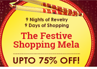Infibeam The Festive Shopping Mela get Upto 75% off on Everything & More Offers