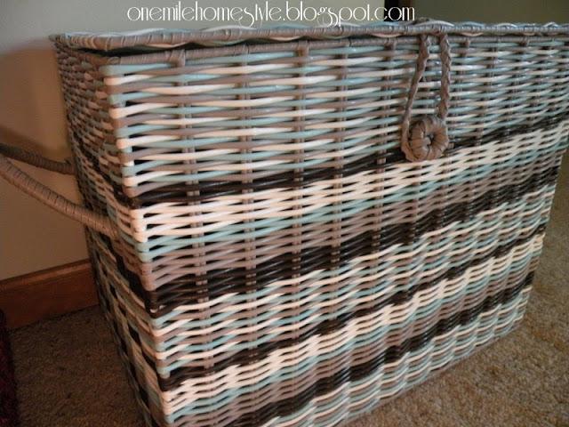 Plastic Woven Basket