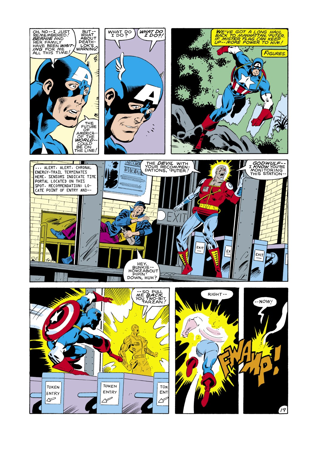 Captain America (1968) Issue #287 #203 - English 20