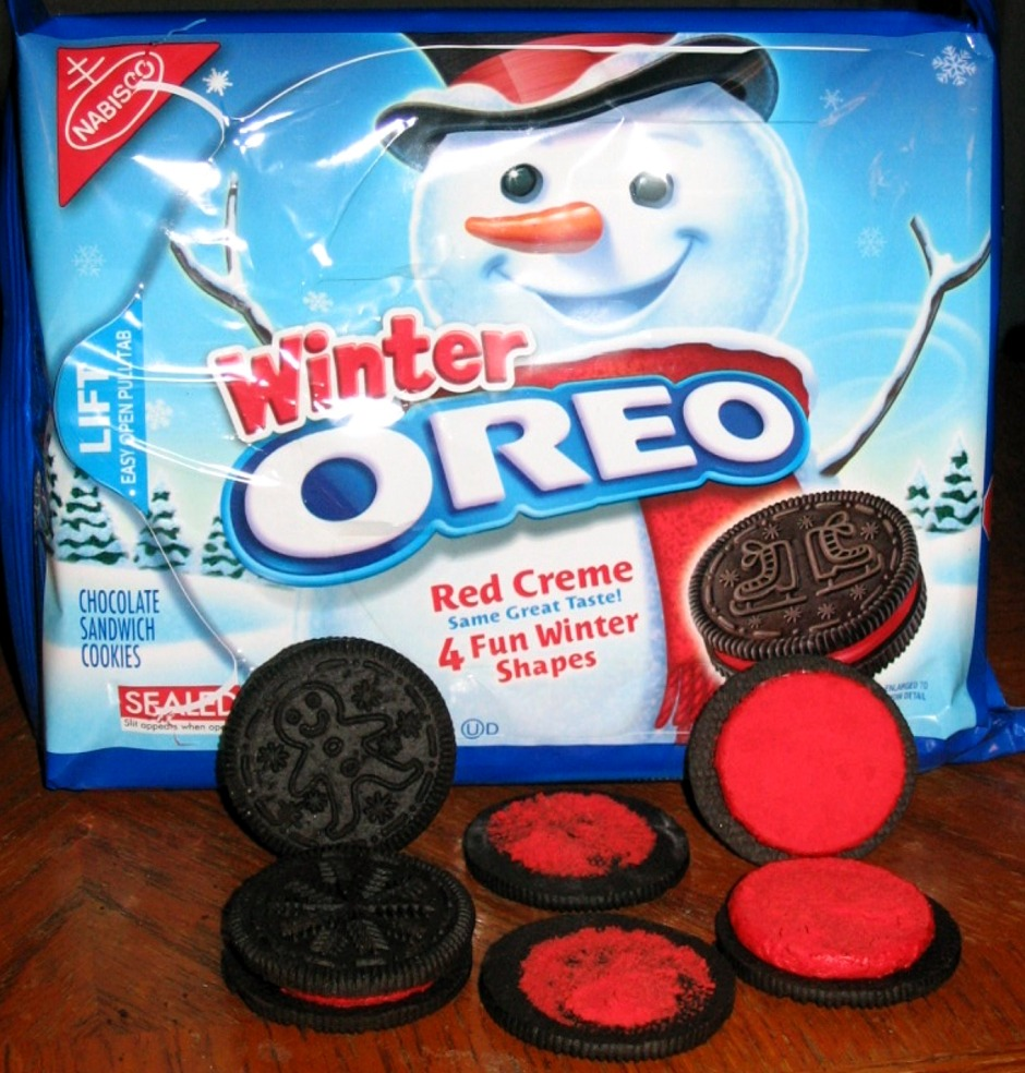 The Holidaze: Winter Oreo Cookies