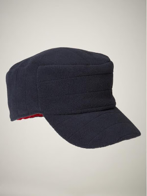 Fleece military hat