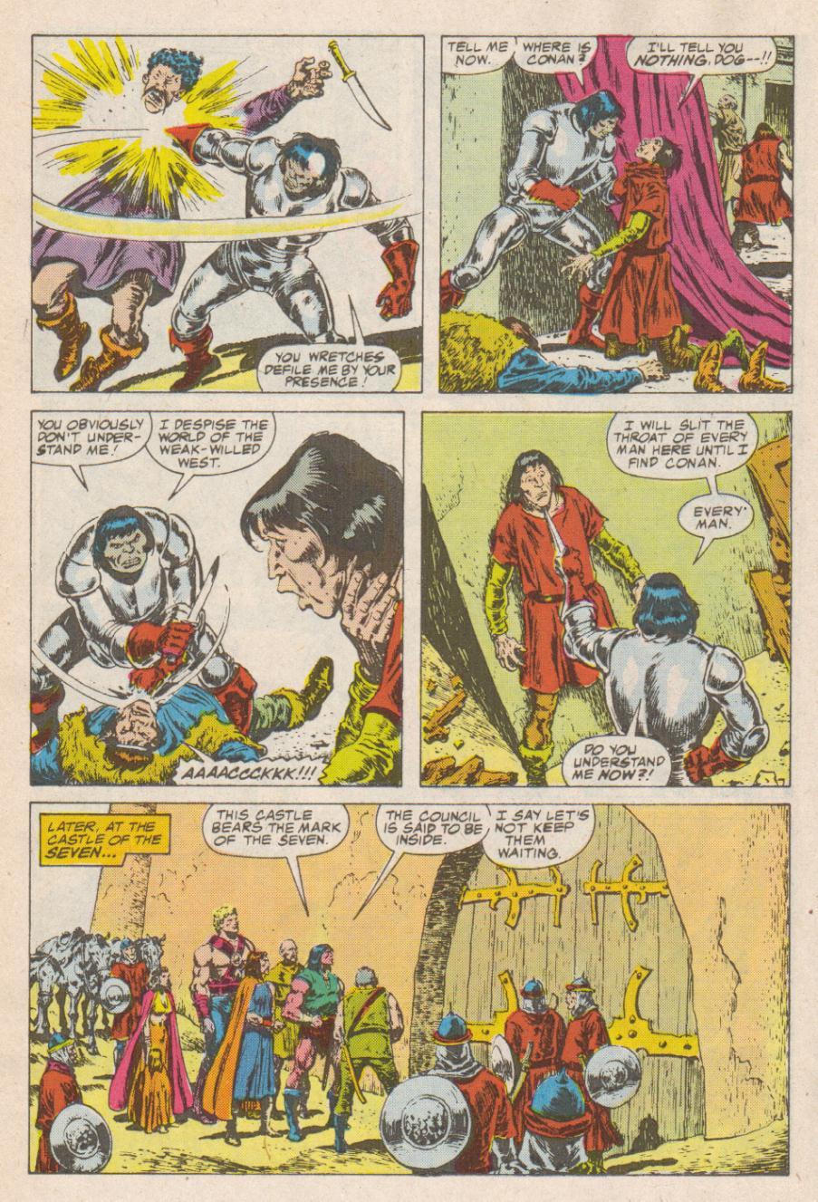 Conan the Barbarian (1970) Issue #190 #202 - English 15
