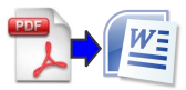 Convert PDF files into Word Documents