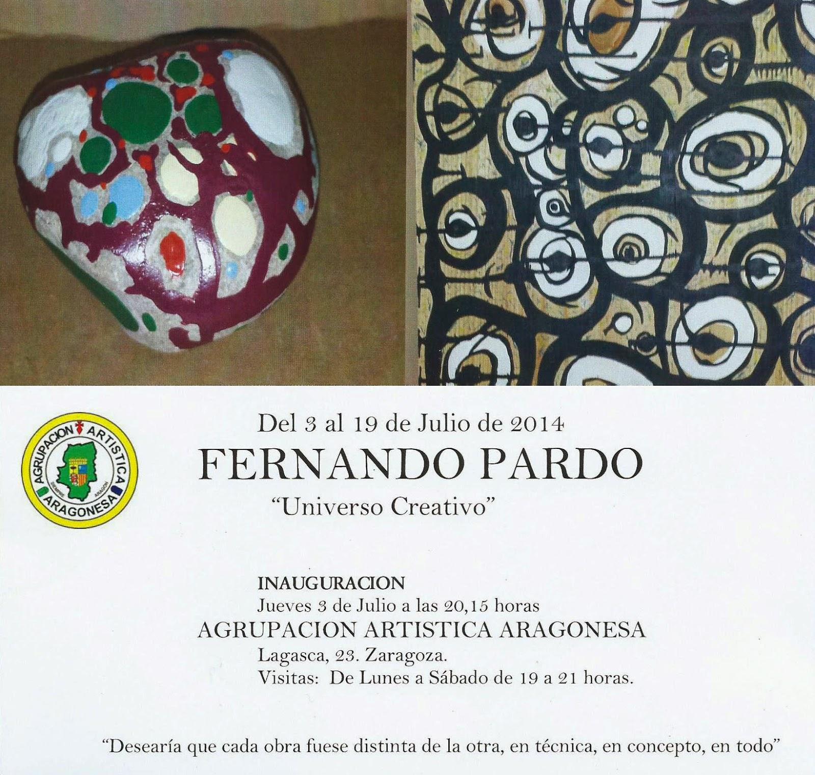 Tarjeta de la inauguración