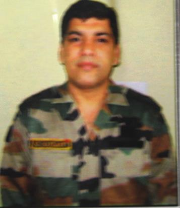 "Major Mahesh Kumar, SM of 22 Rashtriya Rifles (PUNJAB), awarded ""Kirti Chakra"" for conspicuous gallantry in Sopore"