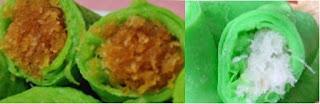Resep Kue Dadar Gulung isi kelapa manis yang enak