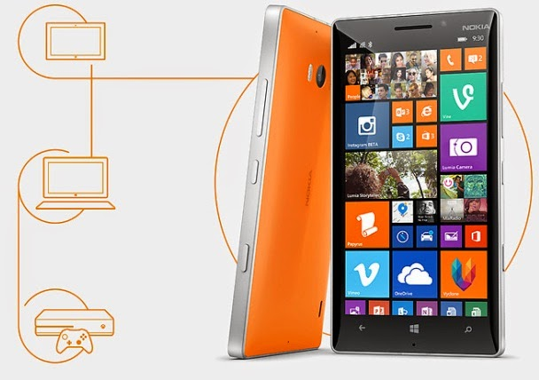 Nokia Lumia 930 Windows Phone Harga Rp 6.9 Jutaan