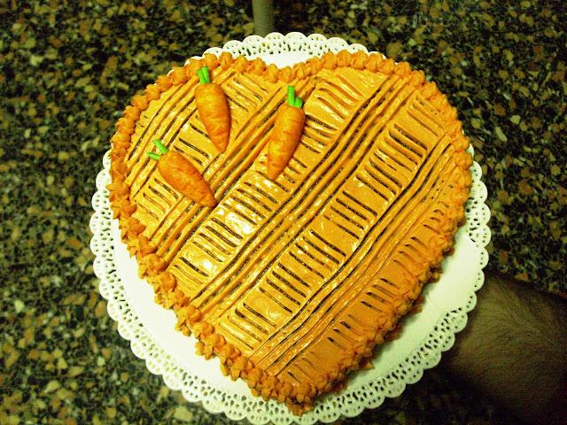 (PDZ-SAP) Torta di carote