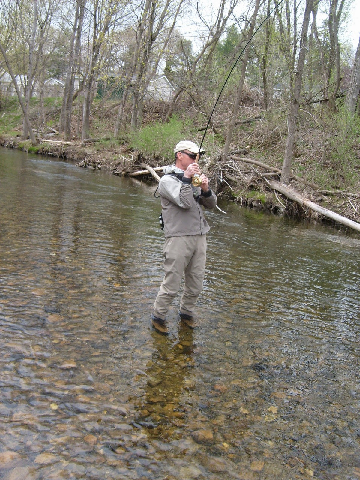 Vermont fly fishing the little creek in the city is for Vermont trout fishing