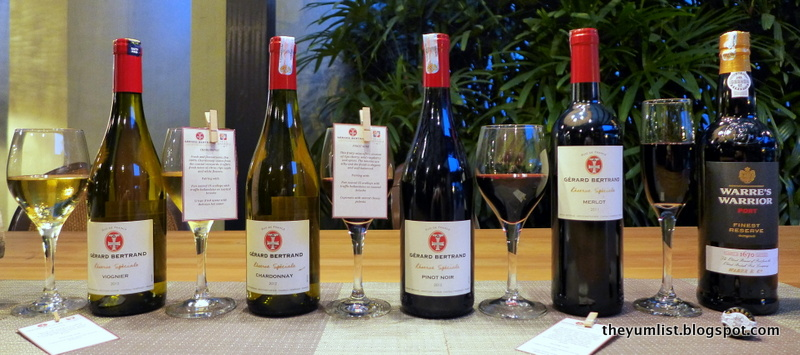 Wines To Be Tasted