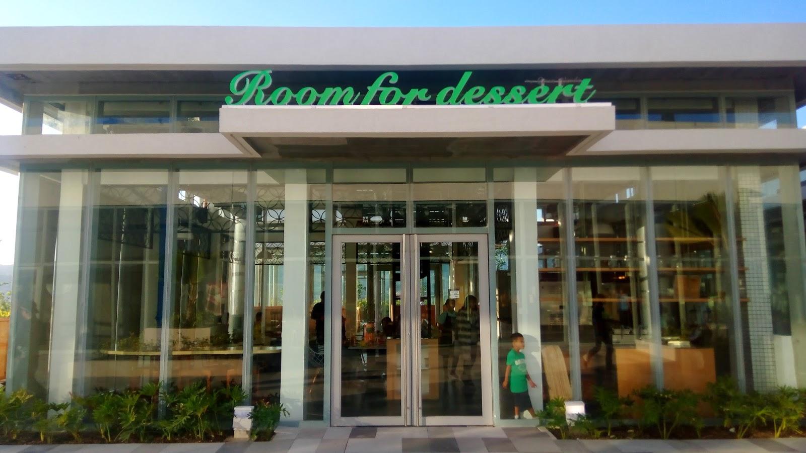 Room For Dessert Cebu Menu
