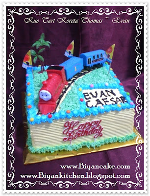 Kue Ulang Tahun Kereta Thomas