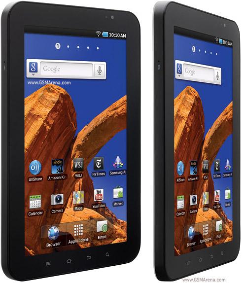 Ukurannya tablet ini sama persis dengan P1000 Galaxy Tab. Tidak ada