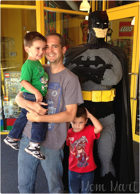 LEGOLAND Discovery Center in Schaumberg IL Batman