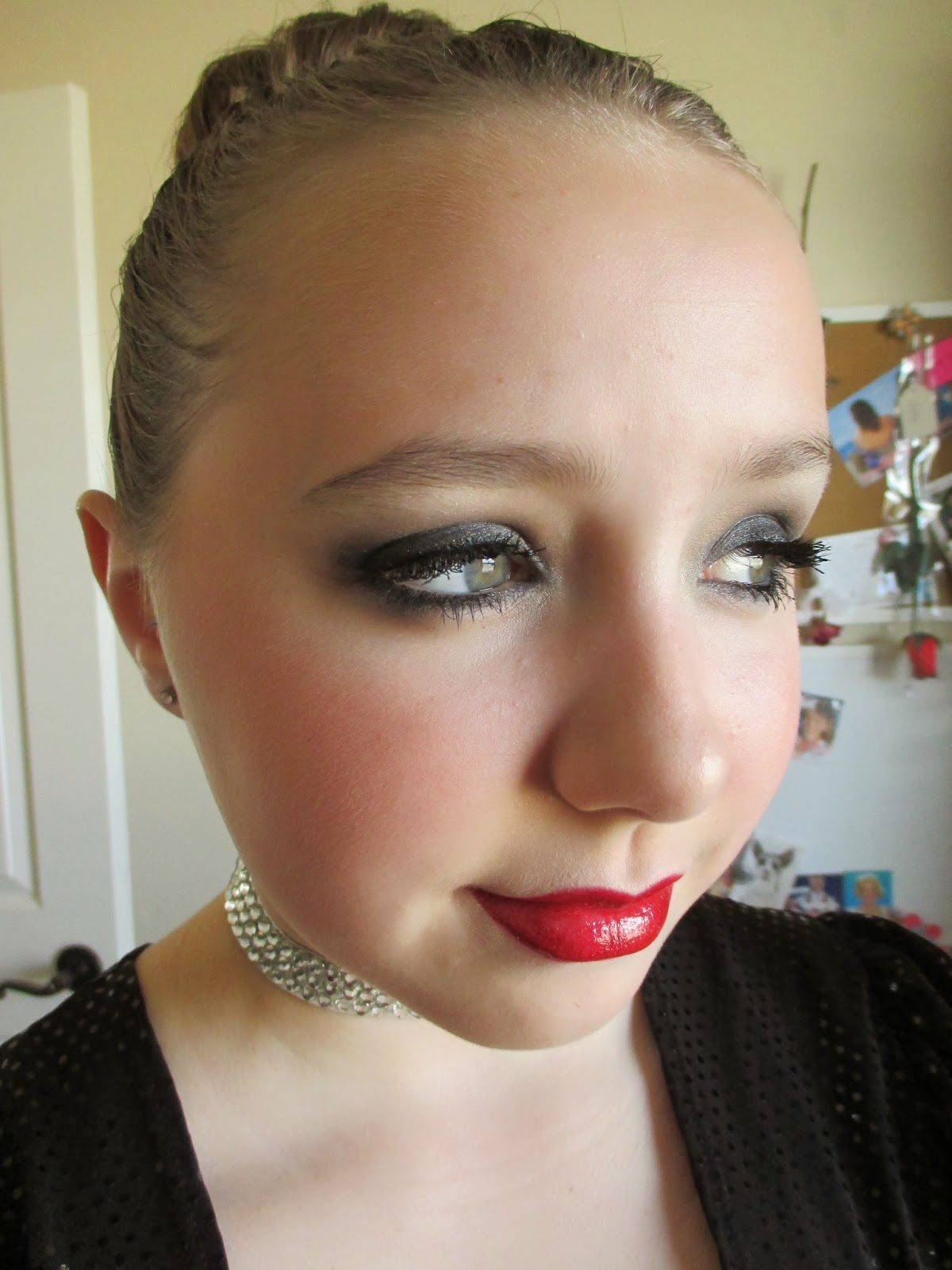 Dramatic Dance Recital Makeup