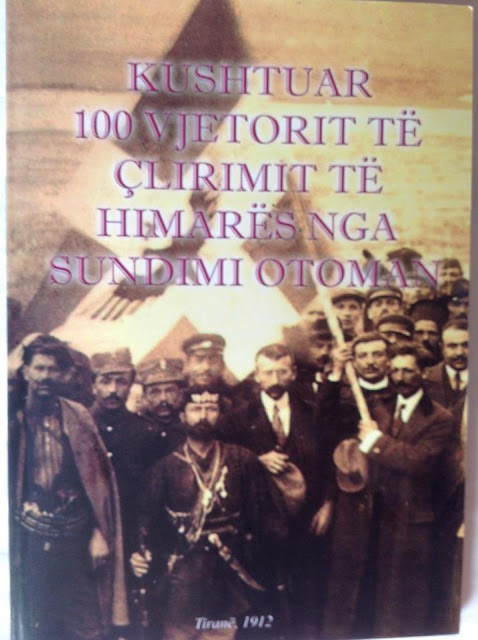 5 November 2012, 100 years of anniversary of the revolt of Himara, by the Turkish invasion