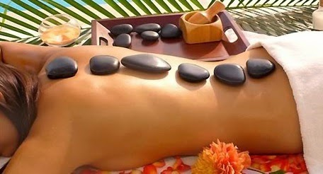 hot stone massage Madrid Spain
