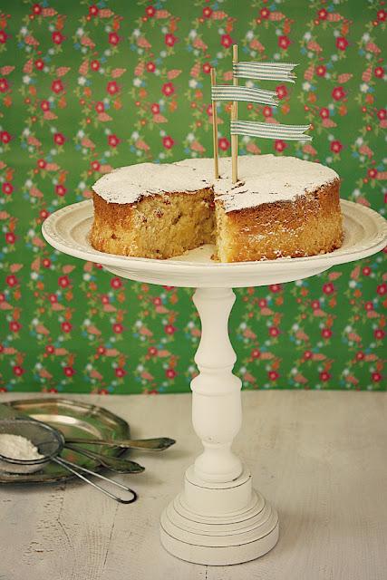 Ciasto kokosowo - ananasowe