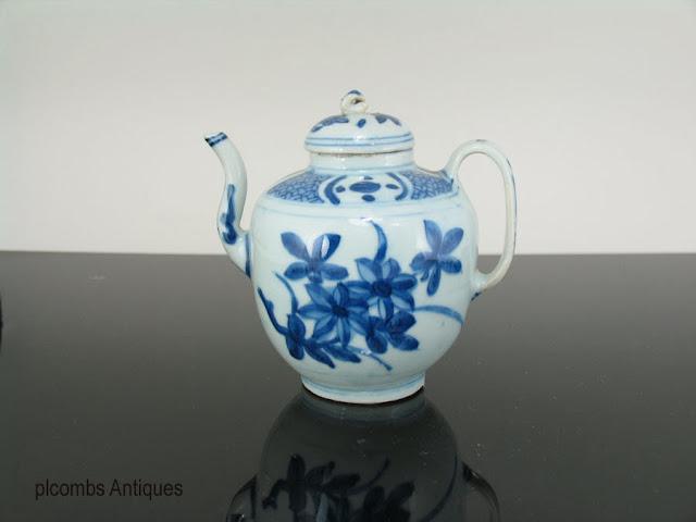 "<img src=""Chinese Ming Teapot .jpg"" alt=""blue and white porcelain teapot"">"