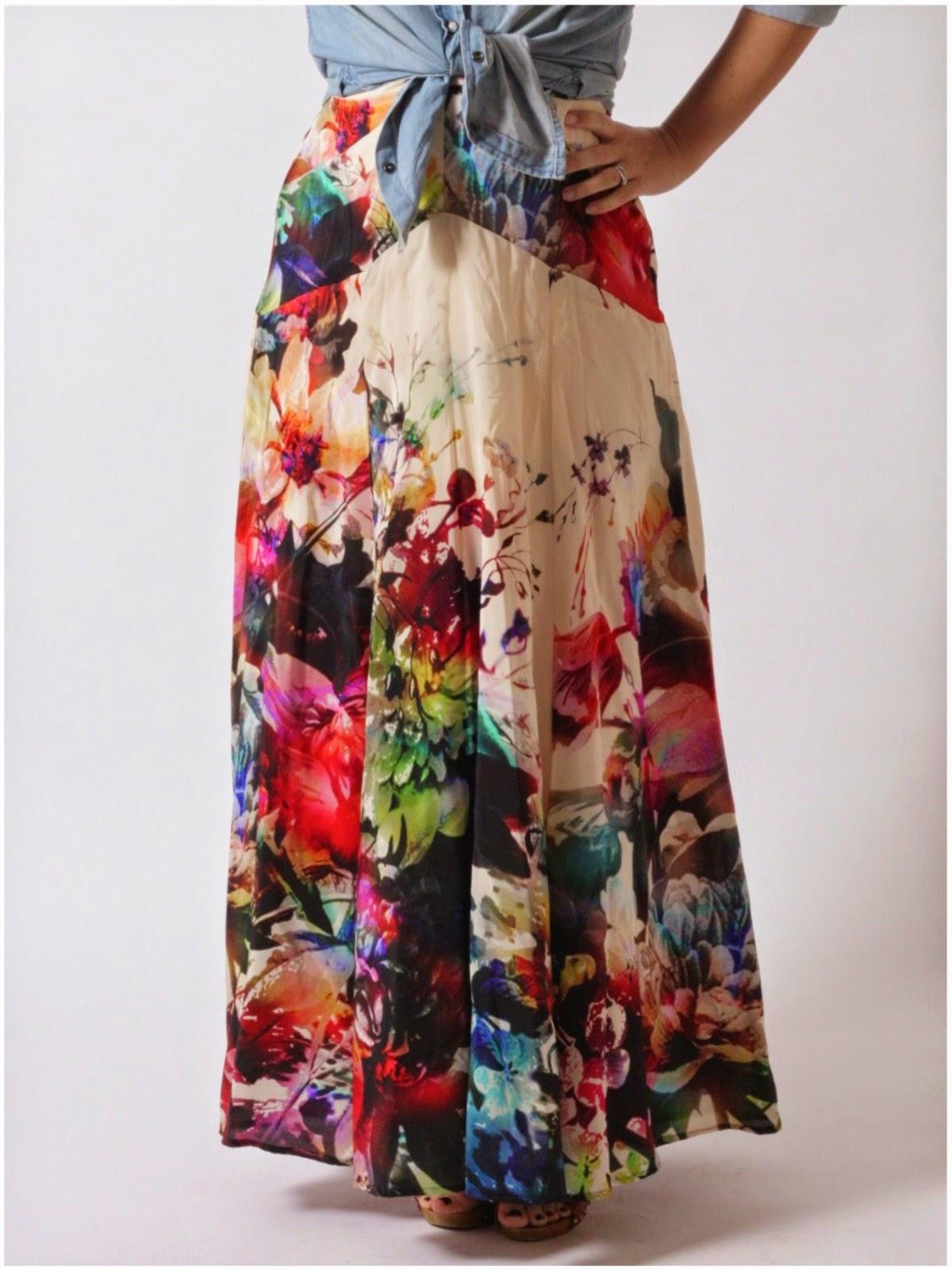 Julia Bobbin - Gabriola Skirt by Sewaholic Patterns