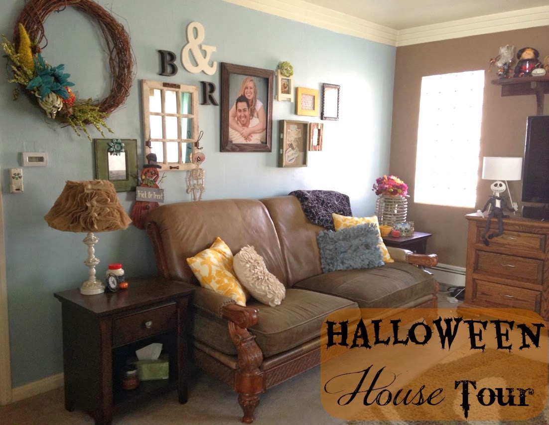 halloween is definitely one of my favorite holidays to decorate the house for plus its helpful that my birthday is only a few days before october
