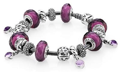 bracelet Pandora charms breloques