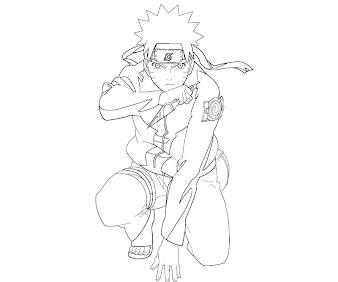 #6 Naruto Coloring Page