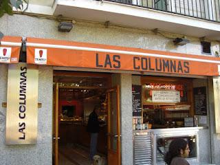 Las Columnas El Tapeador