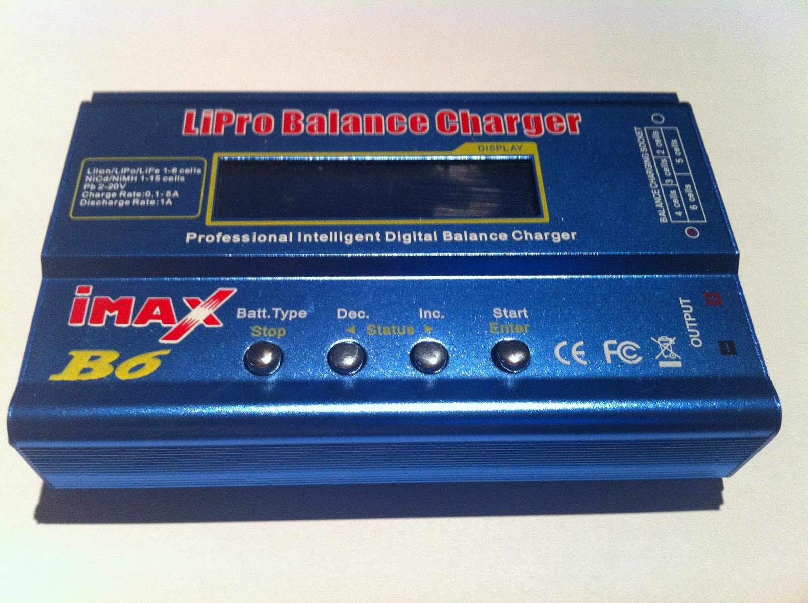 chargeur batterie lipo airsoft