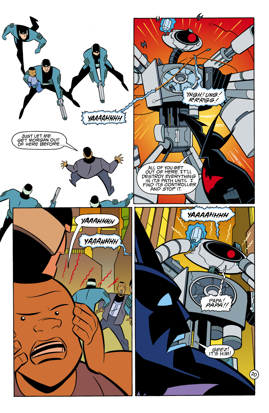 Batman Beyond [II] Issue #10 #10 - English 21