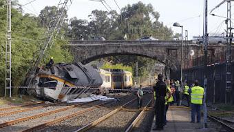 Nuevo Accidente Ferroviario mortal en Galicia. Al menos 4 fallecidos y 50 heridos